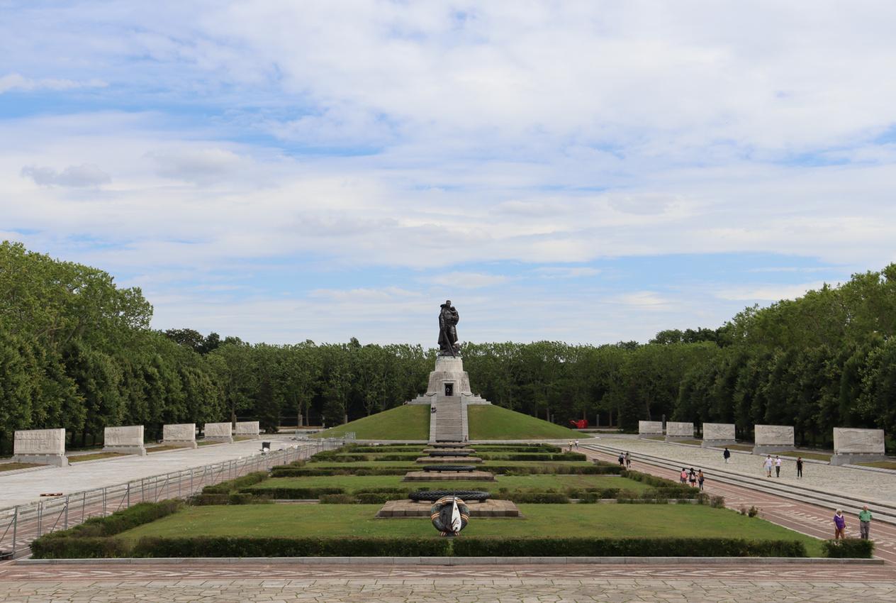 Sowjetisches Ehrenmal, Treptower Park, Berlin 2020