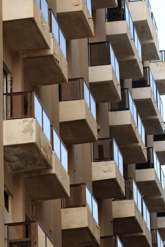 Balconies in San Ġiljan