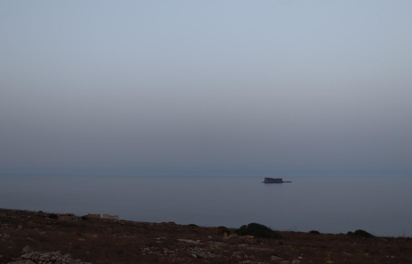 Filfla off the Coast of Qrendi