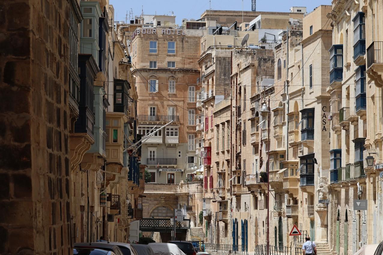 Street View, Barrakka, Valleta