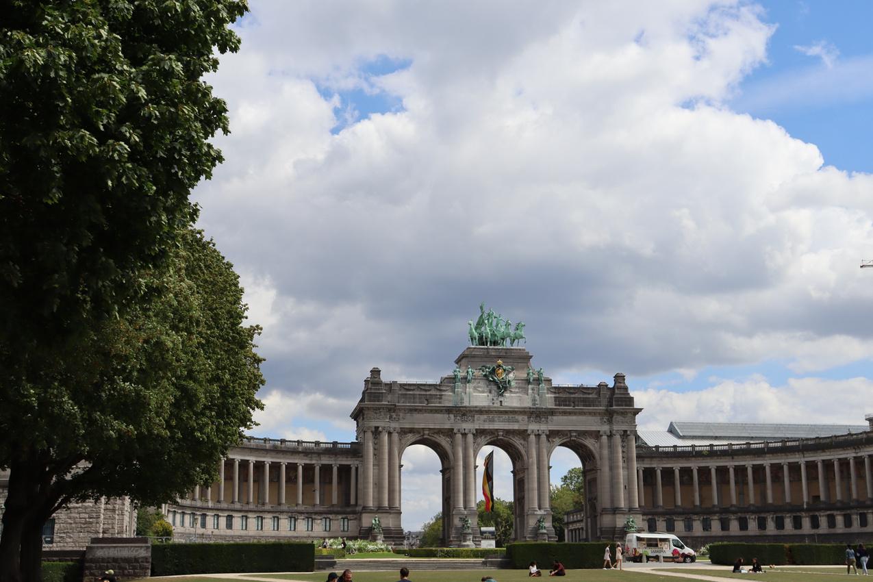 Arcades du Cinquantenaire, Brussels 2020