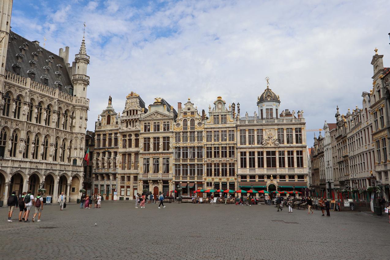 Grote-Markt, Brussels 2020