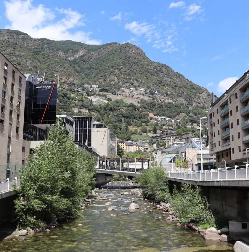 La Valira, Andorra la Vella 2020